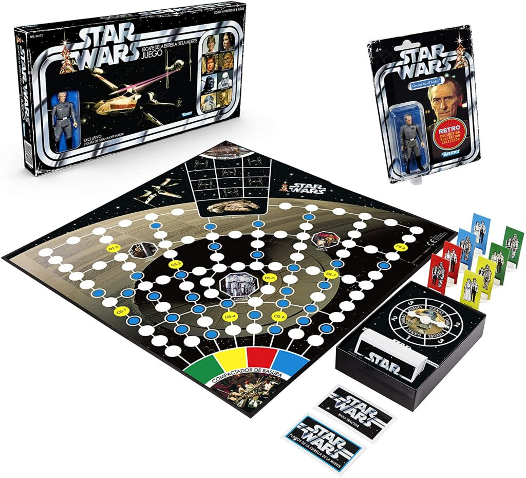 Hasbro Star Wars Retro Game-Escape de la Estrella de la Muerte